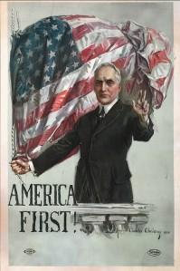 Warren Harding campaign poster